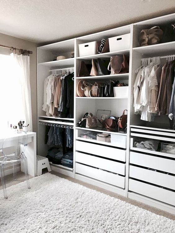 30+ Adorable Wardrobe Closet Design Ideas To Inspire You
