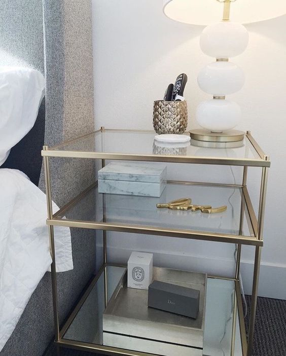 35 bedside table to decorate your home life