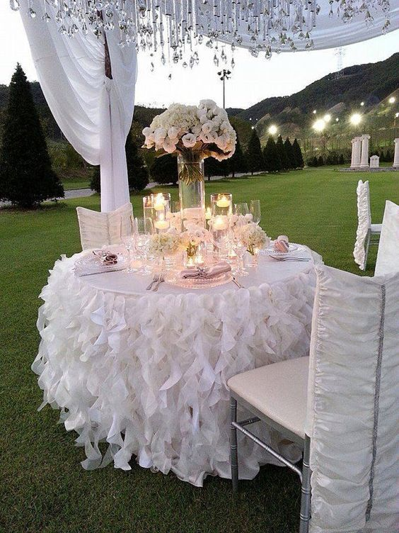 38  Gorgeous Tablecloth Ideas Make Your Wedding Better