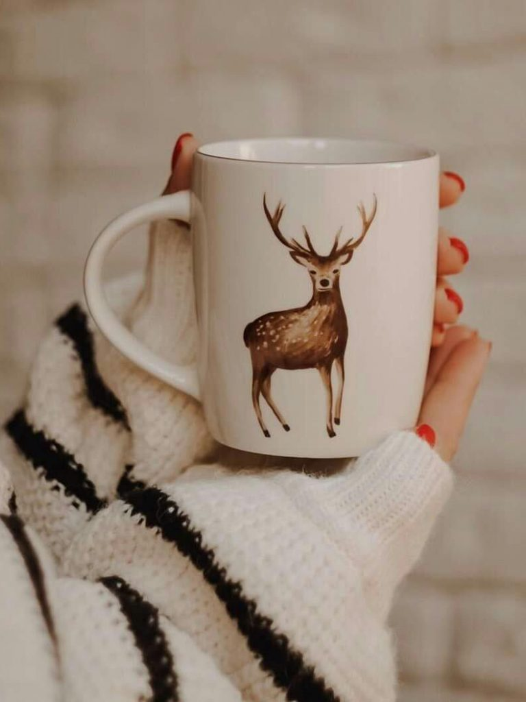 Cute cartoon mugs creative design concept 2020