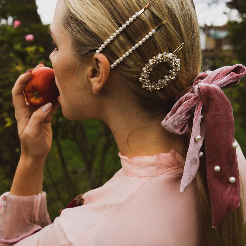Get More Glamour with These 36 Affordable Hair Accessories hair accessories,jewelry hairpin,headband,hair clips,accessories for women,simple hair accessories